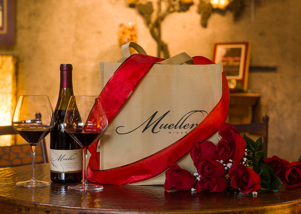 Valentine's Day at Mueller Winery Tasting Room- Photo by Marcie Lewis