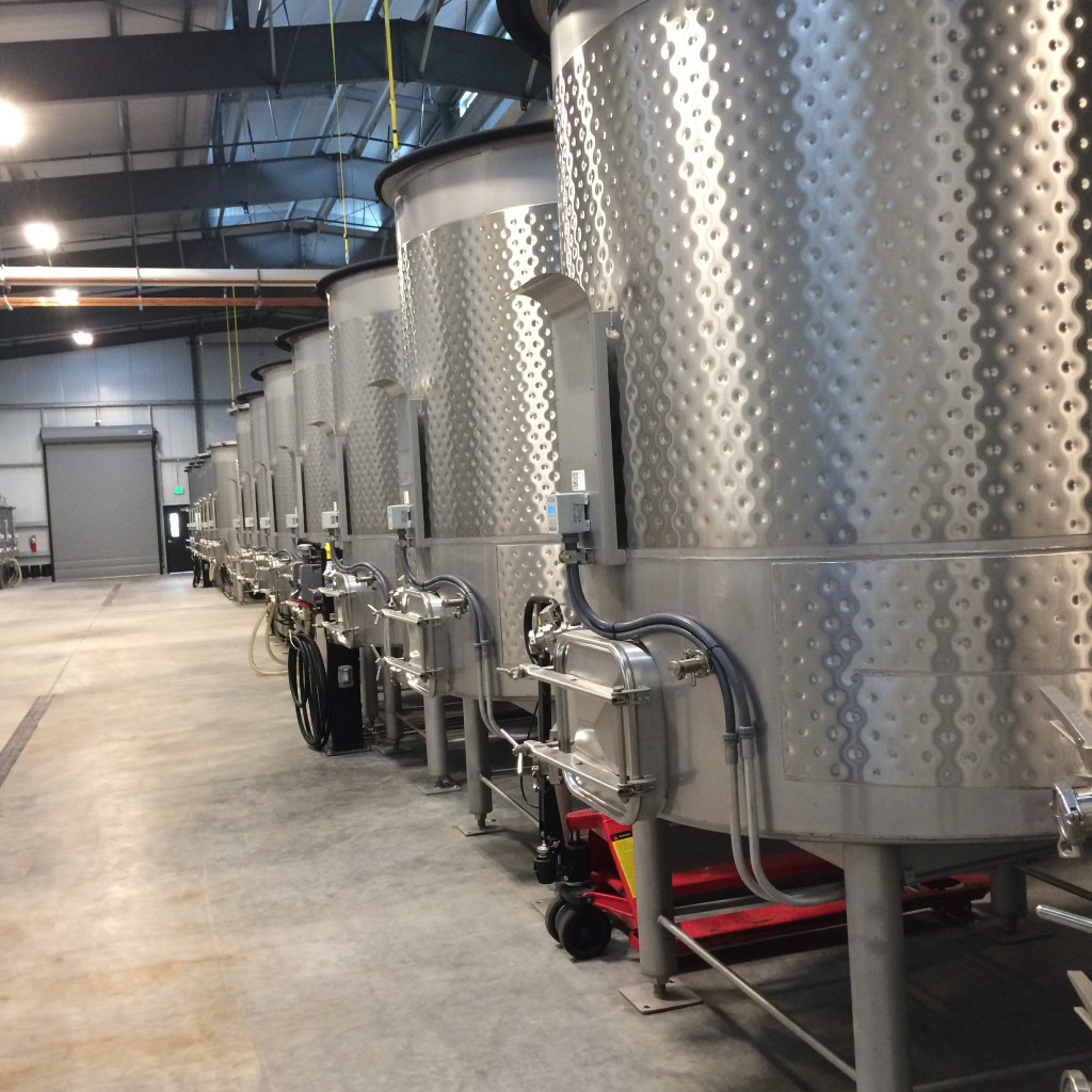Shiny new tanks.